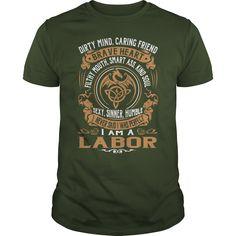 LABOR Brave Heart Dragon Name Shirts