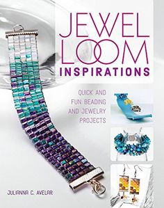 Jewel Loom Inspirations: Quick and Fun Beading and Jewelry Projects by Julianna C. Avelar http://smile.amazon.com/dp/1440243891/ref=cm_sw_r_pi_dp_vDrNwb1P0RDCA