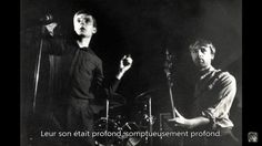 Ian Curtis and Peter Hook, Joy Division Joy Division, Arvo Part, Ian Curtis, Unknown Pleasures, The Libertines, The Lost World, Post Punk, New Wave, Embedded Image Permalink
