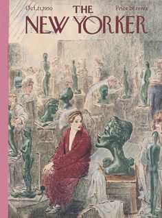 The New Yorker - Saturday, October 21, 1950 - Issue # 1340 - Vol. 26 - N° 35 - Cover by : Garrett Price