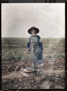 China - first photos in colour - 1912
