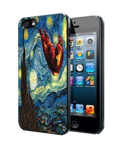 Iron Man Starry Night Samsung Galaxy S3 S4 S5 Note 3 , iPhone 4 5 5c 6 Plus , iPod 4 5 case
