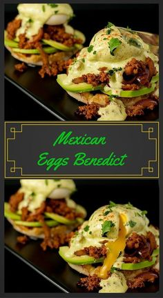 Mexican Eggs Benedict: Avocados,Chorizo and a poached egg topped with Cilantro Lime Hollandaise. YES PLEASE!!