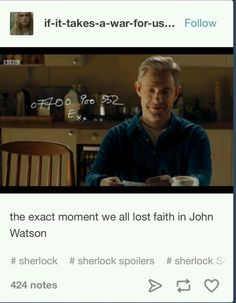 Well no. This meant that John and Mary's relationship weren't the best, therefore a possibility of John and Sherlock getting together. And now that Mary is dead and John and Sherlock are raising a little baby, I am 99 % sure they are together or going to be together. I never lost my faith in John, it only grew stronger.