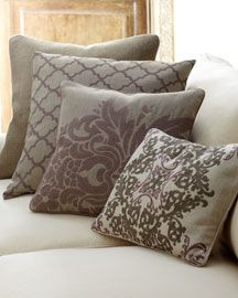 natural linen decorative pillows neiman marcus. I'll take all 4 in shades of blue