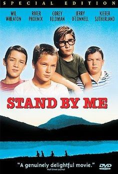Stand by Me (DVD 2000 Special Ed) River Phoenix Kiefer Sutherland Corey Feldman 80s Movies, Great Movies, Movies To Watch, Film Watch, Awesome Movies, Imdb Movies, 80s Movie Posters, Childhood Movies, Popular Movies