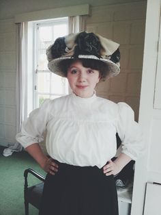 The Petticoat Archives: Gibson Girl Blouse