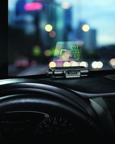 Garmin Head-Up Display (HUD) Dashboard Mounted Windshield Projector.  Want it? Own it? Add it to your profile on unioncy.com #tech #gadgets #electronics #gear