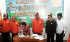 Perjanjian Kerjasama Kelompok Tani Adat Dayak Misik dengan GAFATAR