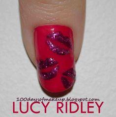 #Nail Design #Valentine's Day
