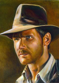 Indiana Jones by charles-hall on deviantART