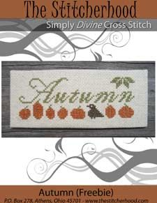 The Stitcherhood: Holiday Free Cross Stitch Samples; Halloween, Christmas, Easter, Valentine.