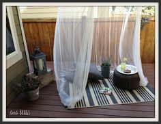 Little Brags: My Cozy Outdoor Spaces