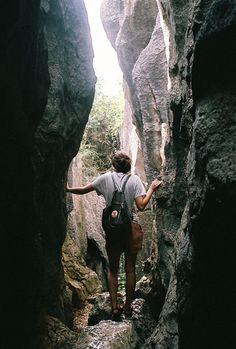 Some day, go out and have an adventure. All you need is your backpack and your imagination.