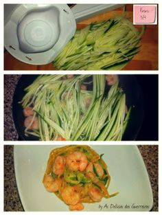 As Delícias das Guerreiras: Caril de esparguete integral com courgette e camar... Dieta Paleo, Healthy Eating, Healthy Food, Cabbage, Spaghetti, Low Carb, Healthy Recipes, Vegetables, Ethnic Recipes
