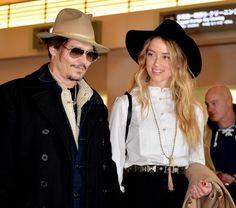Johnny Depp Photos: Johnny Depp and Amber Heard in Tokyo