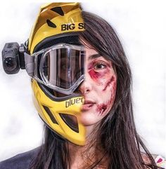 Wear a helmet. I can't tell everyone how many times my helmet has saved my head, brain, face and life. I would never ever ride without one, Ditto ski or skate. Wear protection.