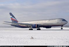 Aeroflot Russian Airlines Boeing 767-3M0/ER