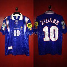 France Home Zidane France Jersey, Adidas, Shirts, Tops, Dress Shirts, Shirt