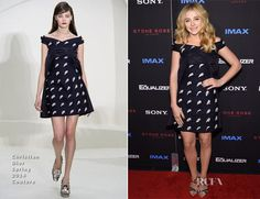 Chloe Grace Moretz In Christian Dior Couture – 'The Equalizer' New York Premiere