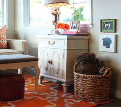 Dresser Vignettes   the curtis casa