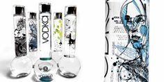 """Bong Vodka Artist Series"" by Jason Thielke / Yosoh / Matthew Curry / Ogi."