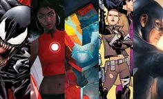 Marvel NOW! | Anunciada Linha Editorial Com Mais de 30 Novas Séries!