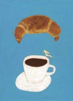 コーヒーとぱん