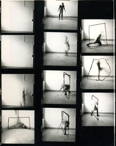 francesca woodman contact sheet