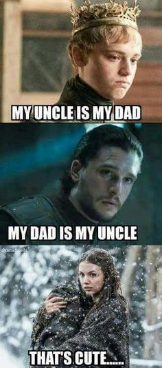 Game of Thrones family dynamic funny