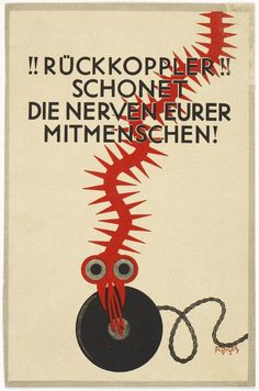 Ruckkoppler spares the nerves of your fellow man! 1927