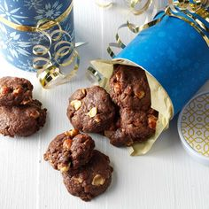 Hazelnut Dream Cookies Recipe -I sampled these goodies at a Bible study and knew from the first bite that I had to have the recipe. To my surprise, the rich cookies require just four ingredients. —Julie Peterson, Crofton, Maryland