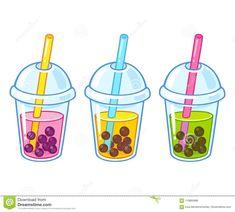 Illustration about Cute cartoon bubble tea cups drawing set. Whats Wallpaper, Tea Wallpaper, Cute Food Drawings, Cute Kawaii Drawings, Tea Cup Drawing, Flower Crown Drawing, Cartoon Bubbles, Clothing Sketches, Bubble Tea