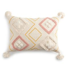 Boho Throw Pillows, Yellow Throw Pillows, Pink Pillows, Lauren Conrad Bedding, Lc Lauren Conrad, Pillow Sale, Fill, Kohls, Nursery Room