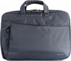 "DIAGO DOUBLE COMPUTER BAG 15"" BLU"