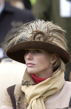 Beautiful Zara Phillips - daughter of Princess Anne, The Princess Royal