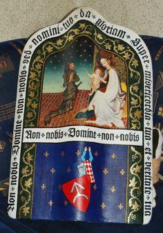 Medieval pawice shield