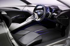 Although it is set to make its official debut at the Geneva Motor Show in less than two weeks, photos of the Infiniti Emerge-E have hit the internet—and we like what we see. Electric Sports Car, E Electric, Car Interior Design, Automotive Design, New Infiniti, Car Ui, Geneva Motor Show, Latest Cars, Custom Cars