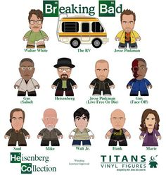 "Breaking Bad TITANS ""The Heisenberg Collection"""