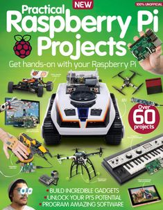 [IMG] Practical Raspberry Pi Projects Edition Imagine Publishing Ltd Arduino Projects, Electronics Projects, Raspberry Projects, Gnu Linux, Software, Rasberry Pi, Electrical Projects, Electrical Engineering, Diy Tech