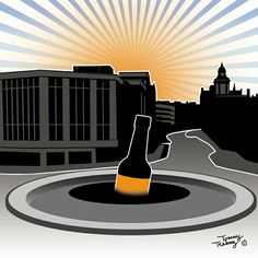 HendOylIntRoad by Tommy Teabag Art Hendersons Relish Inspired Sheffield Art