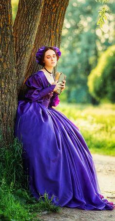 Lilac, Lavender, Purple, Fairytale Fashion, Gorgeous Women, Fairy Tales, Victorian, Community, Lady