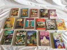 LOT OF 16 COZY MYSTERIES LIKE NEW FREE S&H  | eBay