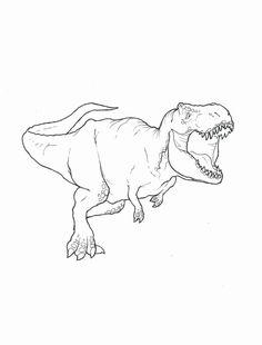 t rex ausmalbild malbilder | dinosaurierbilder, malvorlage