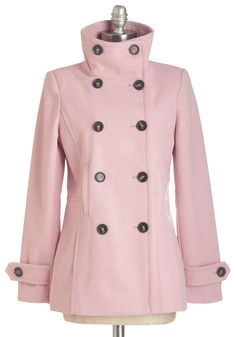 The Best of Timeless Coat in Blush, @ModCloth