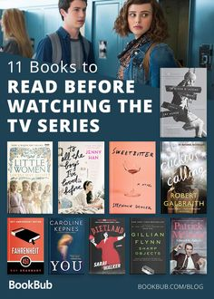 Your new reading list: These books are being turned into a tv series, so you need to read them before watching the actual shows! There is nothing better than seeing your favorite characters come to life.  Some of these include: '13 Reasons Why' and 'Sweetbitter' #yabooks #bookrecs #sweetbitter #13reasonswhy #mustread #booktotv