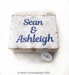 Personalised Memory Box, Wedding Gift Box, Beauty Storage Chest, Roses Make Up Caddy, Vintage Bedroom Dresser, Anniversary Photograph Box by ArtelisaGiftBoutique on Etsy https://www.etsy.com/uk/listing/558267311/personalised-memory-box-wedding-gift-box