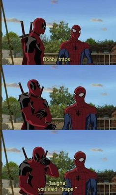 Deadpool humor at it's finest
