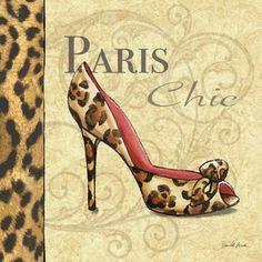 RB2215 <br> Paris Couture Shoe I <br> 12x12