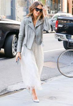 Le look rock et romantique de Jessica Alba